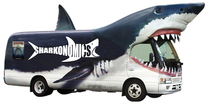 Sharkonomisc Bus